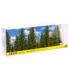 Fir Trees. 9 pcs.. approx. 8 -12 cm high