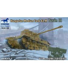 1:35 Hungarian Medium Tank 43.M Turán III