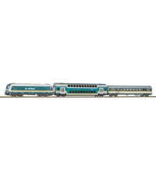"Start Set Hercules ""Alex"" Diesel loco w. 2 passenger cars"