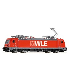 Electric Loco series 187 of the WLE, epoch VI