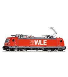 Electric Loco series 187 of the WLE, epoch VI