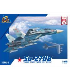 "1:48 Su-27UB ""Flanker C"" Heavy Fighter"