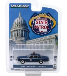 Anniversary Collection Series 9 - 1989 Chevrolet Caprice - Wisconsin State Patrol 80th Anniversary Solid Pack