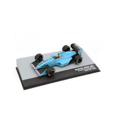 1988 March Judd 881 Leyton House March Racing Team #15 Mauricio Gugelmin Italy GP F1, Blue