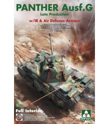 1:35  WWII German medium Tank   Panther Ausf.G late production w/ IR &Air Defense Armour