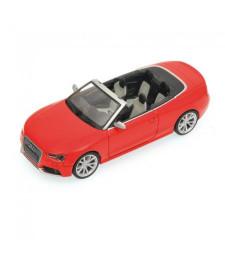 AUDI RS5 CABRIOLET - 2012 - RED L.E. 1008 pcs.
