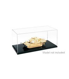 Plastic transparent case 1:48/1:72 (210x100x80 mm)