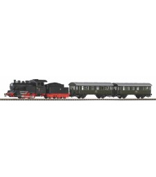 Starter set steam locomotive with PKP passenger cars