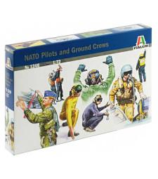 1:72 NATO PILOTS AND GROUND CREWS - 48 figures
