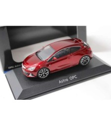 2019 Opel Astra J GTC OPC in Opel dealer packaging, Red