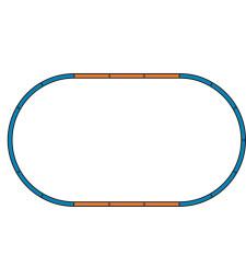 Bedding Extension sets for Starter set Track A + 4 straight