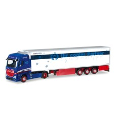 "Mercedes-Benz Actros Bigspace refrigerated box trailer ""Spedition Tasche"""