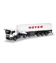 "MAN TGS L Euro 6c gas tank semitrailer ""Hoyer LNG"""