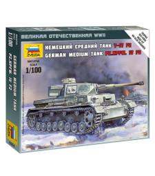 1:100 Panzer IV long gun