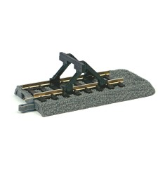 PIKO A-Track Roadbed endpieces with Buffer stop