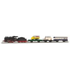 Starter set freight train with steam locomotive of the SZD