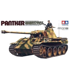 1:35 German Panther Ausf A Medium Tank - 2 figures