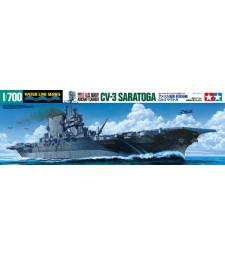 1:700 U.S. Navy Aircraft Carrier CV-3 Saratoga 1944-1945