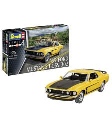 1:25 1969 Boss 302 Mustang