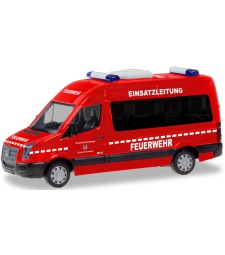 "VW CRAFTER BUS HD ""FIRE DEPARTMENT ESCHWEGE OPERATIONS COMMAND"""