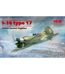 1:32 I-16 type 17, WWII Soviet Fighter
