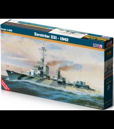 1:400 Zerstroer Z-31 1942