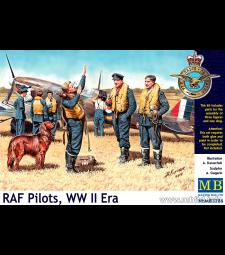 1:32 RAF Pilots, WW II Era - 3 figures
