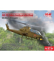 1:32 AH-1G Cobra (early production), US Attack Helicopter (100% new molds)