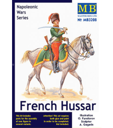 1:32 French Hussar, Napoleonic Wars Series -1 figure