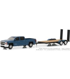 2018 Chevrolet Silverado 1500 with Flatbed Trailer Solid Pack - Hitch & Tow Series 15