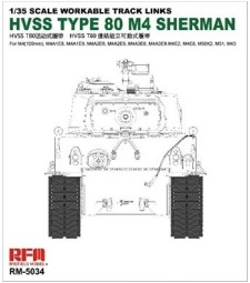 1:35 HVSS T80-TRACK FOR M4 SHERMAN