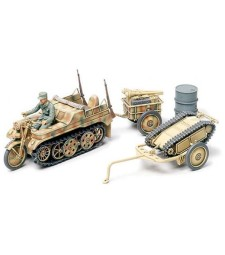 1:48 Kettenkraftrad (Infantry Cart & Goliath Demolition Vehicle) - 1 figure