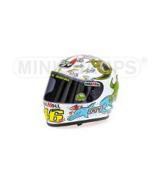 AGV HELMET - VALENTINO ROSSI - WORLD CHAMPION MOTO GP VALENCIA - 2005