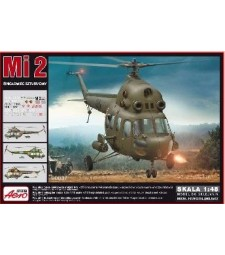 1:48 MI-2 Attack Helicopter