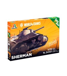 1:72 SHERMAN - World of Tanks - Easy to Build