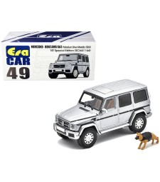 Mercedes Benz G63 (SDU) Palladium Silver Metallic 1ST Special Edition with Police Dog