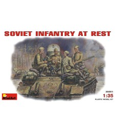 1:35 Soviet Infantry at Rest (1943-45) - 4 figures