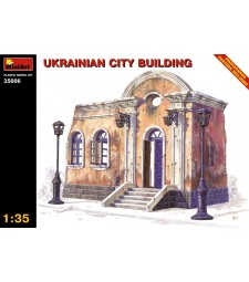 1:35 Ukrainian City Building