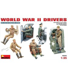 1:35 WW II Drivers - 6 figures
