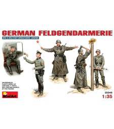 1:35 German Feldgendramerie - 5 figures