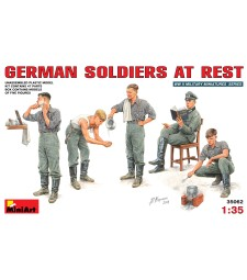1:35 German Soldiers at Rest - 5 figures