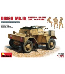 1:35 British Scout Car Dingo MK. 1b - 3 figures