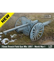 1:35 75mm French Field Gun Mle 1897 - WWI