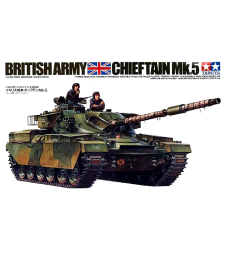 1:35 British Chieftain Mk. 5 Tank - 3 figures