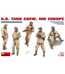 1:35 U.S. Tank Crew. NW EUROPE - 5 figures