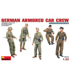 1:35 German Armoured Car Crew - 5 figures