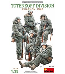 1:35 Totenkopf Division ( Kharkov 1943 ) - 5 figures