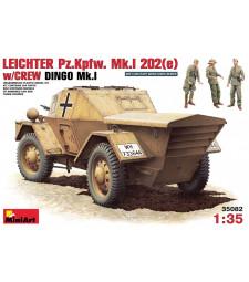 1:35 Leichter Pz. Kpfw. Mk 1202 (e). w/crew - 3 figures