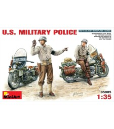 1:35 U.S. Military Police - 2 figures