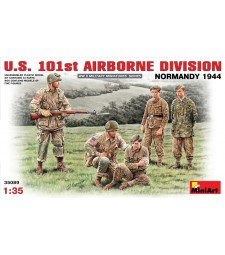 1:35 U.S. 101st Airborne Division (Normandy 1944) - 5 figures